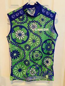 Pearl Izumi cycling jersey top sports shirt workout womens L bike active wear