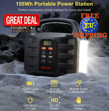 150W Portable Power Station Solar Power Generator Energy Supply Backup Battery