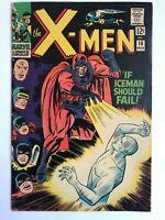The X-Men #18 - Magneto Cover Iceman Falls Cyclops Marvel Comics
