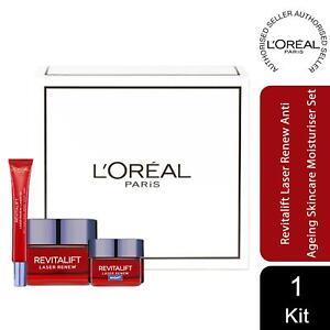 L'Oreal Paris Revitalift Laser Renew Anti Ageing Day & Night Cream Skincare Set