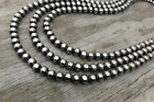 Navajo Pearls Necklace  ~ All 10mm  ~ Choose Length