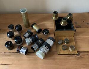 Antique Vintage Eyepieces etc - Job Lot