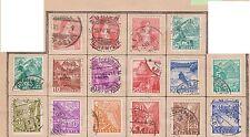 (Q15-157) 1902-50 Switzerland mix of40 3c to 2FR