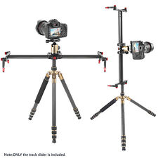"Neewer Photo 47.2"" Aluminum Alloy Camera Track Slider Video Stabilizer Rail"