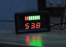 1PCS NEW  Charge Level Indicator Voltmeter for 12V Lead-acid Battery