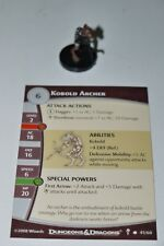 DDM Dungeons and Dragons MINIATURES KOBOLD ARCHER 41/60 DUNGEONS OF DREAD + CARD