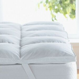 Luxury Duck Feather Mattress Topper Mattress Cover Available In All Sizes