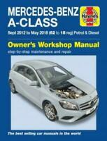 Haynes Manual 6429 Mercedes A Class A160 A180 A200 & A220 W176 2012-2018 Mark 3