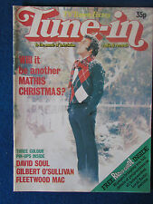 Tune In Magazine - TV Times Publication - 1977 - Johnny Mathis Cover
