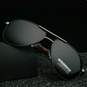 Aluminium HD Herren Fahren Sonnenbrille Polarisiert UV 400 Sport Pilotenbrille