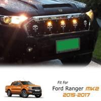 FRONT SKULL GRILLE GRILL POWER FRONT 3 LEDs FOR FORD RANGER PX2 MK2 15 16 17