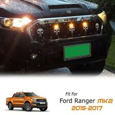 FRONT SKULL GRILLE GRILL POWER FRONT 3 LEDs FOR FORD RANGER PX2 MK2 2015-2017