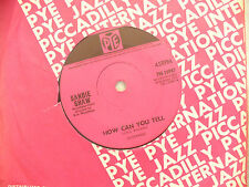 SANDIE SHAW HOW CAN YOU TELL / IF EVER YOU NEED ME pye 15987..N/M.....45rpm pop