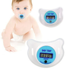 Baby Nipple LCD Digital Mouth Pacifier Thermometer Children Health Safety Care