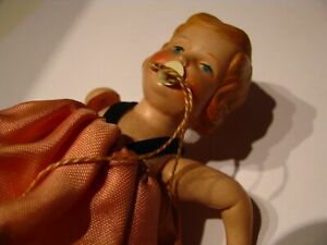 Original mini celluloid girl doll 1930's (top condition/without packaging)