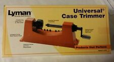 Lyman Universal Case Trimmer w/ 9 pilot multi pack, #7862000, NIB