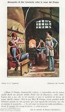 ESTRAZIONE DENTARIA NELLA FUCINA DI UN FABBRO. Dentista. Dentist. Zahnarzt. 1929