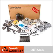 Fit 91-94 Nissan Sentra NX 1.6L DOHC Master Overhaul Engine Rebuild Kit GA16DE