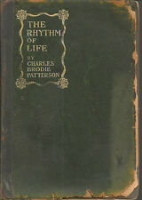 Rhythm of Life Charles Brodie Patterson 1st author signed Green leather cover