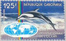 GABON GABUN 1998 1429 929 Intl. Year of the Ocean Jahr des Ozeans Delphin MNH