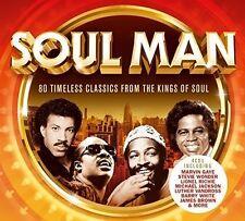 SOUL MAN (Best of Soul) 4 CD SET (2017)