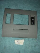 1996 Cadillac Drivers Side Rear Door Interior Trim Panel And Switches