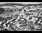 EPINAC-les-MINES (71) VOIE FERROVIAIRE , VILLAS & EGLISE en vue aérienne 1953