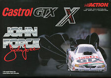 2001 Mustang John Force GTX Castrol Funny Car Diecast 1:24 Action 10X Champ
