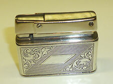 "ROWENTA ""PETITE"" POCKET LIGHTER W. 925 STERLING SILVER CASE - 1959-1964 -GERMANY"