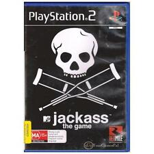 PLAYSTATION 2 JACKASS THE GAME PAL PS2 [UVG] YOUR   GAMES PAL
