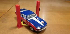 2 Post Garage Lift For 1:24 Scale Model Cars Garage Diorama 3d Printed.