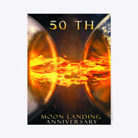 """On trend Moon Landing 50th Anniversary Gift Poster - Gift Poster - 18""""x24"""""""
