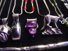 STERLING SILVER LOT JEWELRY 100+ GMS MIXED