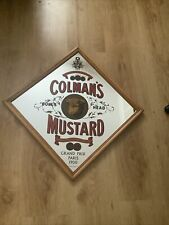 More details for colmans mustard mirror picture sign