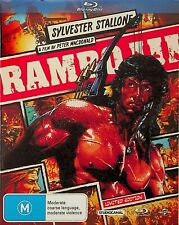 RAMBO III -Limited Edition Comic Book Cover Blu Ray (NEW) Sylvester Stallone (3)