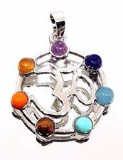 Modeschmuck-Halsketten & -Anhänger aus Stein und Metall-Legierung mit Kristall
