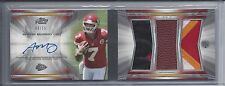 AARON MURRAY 2014 TOPPS PRIME LEVEL 3 BOOK 3 PIECE ROOKIE PATCH AUTO RC #D 9/15