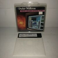 "UNTESTED DUKE NUKEM 1992 5.25"" Disk IBM PC XT AT Video Game Micro Star Ver RARE"