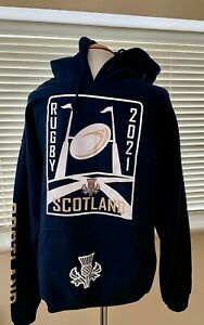 Brand New Scotland Rugby 2021 Hoodie Large