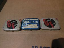 """Vintage Lot of 3 Fuse Containers Tins 2 """"General Fuse"""" & 1 Killark"""