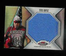 2012 TOPPS UFC FINEST JUMBO FIGHT MAT RELICS TITO ORTIZ UFC 140 EVENT-USED MAT