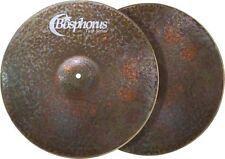 "Bosphorus Turk Dark Hi Hat 12 "" Cymbals Cymbals Hand Hammered Top and Bottom"