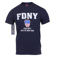 New York Fdny Feu Département Officiellement Licensed Chemise Feu Tee-Shirt XXL