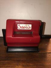 Sizzix Sidekick Red Die-Cutting and Embossing Machine