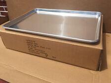 "12-Pack Full Size 18 Gauge Aluminum Bun Pan With Wire in Rim, 18"" x 26"""