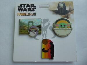 Disney Trading Pins The Mandalorian 3 Pin Set