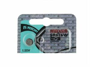 Maxell WC376 SR626W 376 Silver Oxide Watch Battery (1 battery)