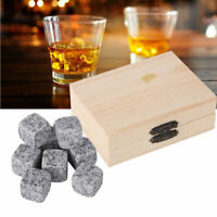 Ice Cubes Bucket Bar  Cooler Chiller Tool Stone Sesame White Sesame Grey