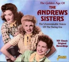 NEW The Golden Age of the Andrews Sisters [ORIGINAL RECORDINGS REMASTERED]
