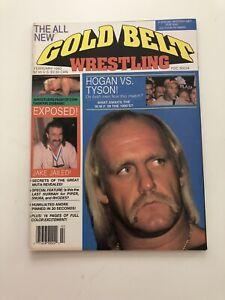 Gold Belt Wrestling Magazine WWF February 1990 Hulk Hogan Jake the Snake